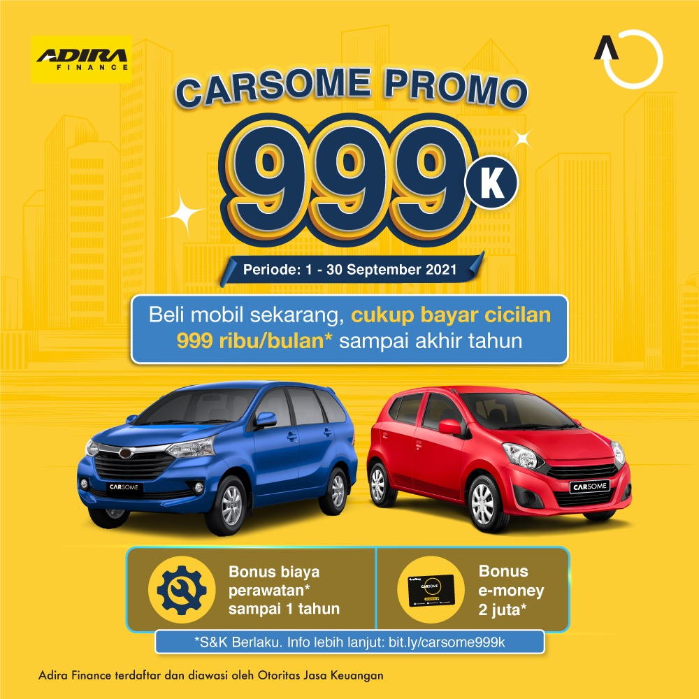 carsome-promo-999k
