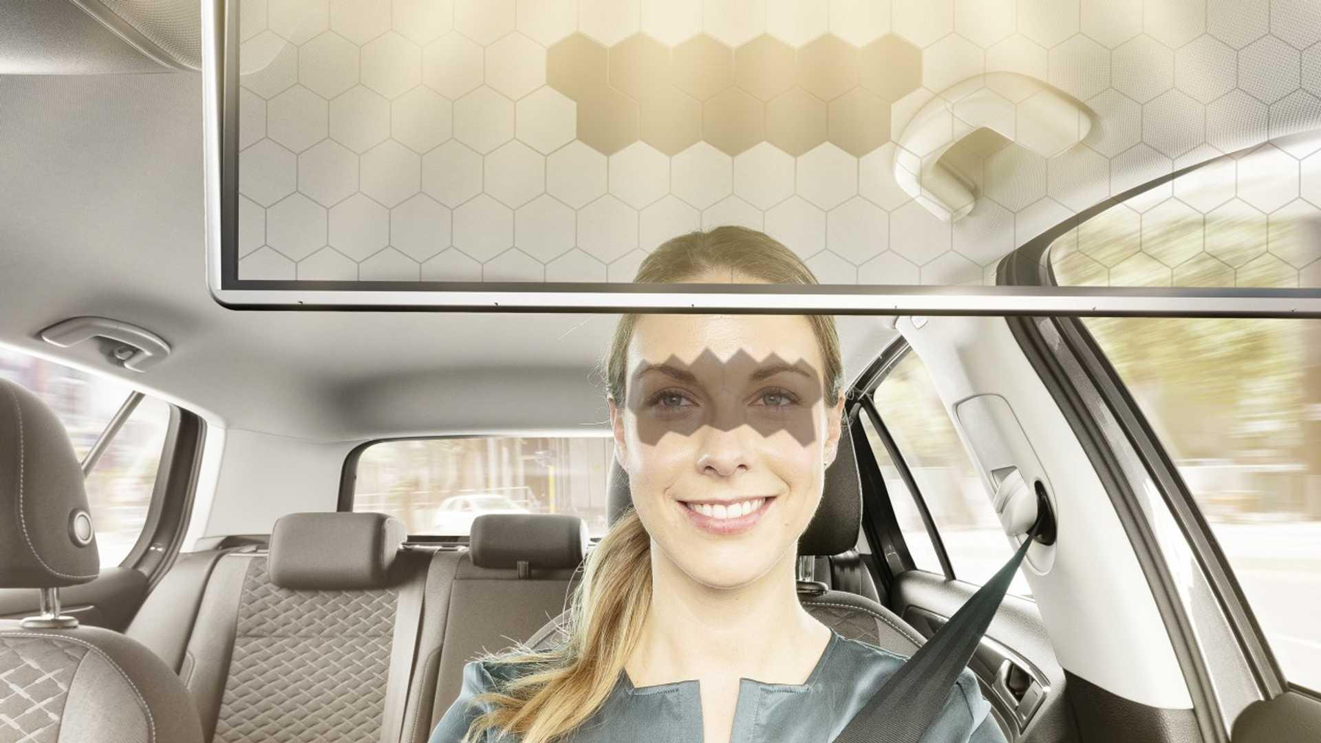 Bosh kembangkan Sun Visor Transparan Berbasis AI